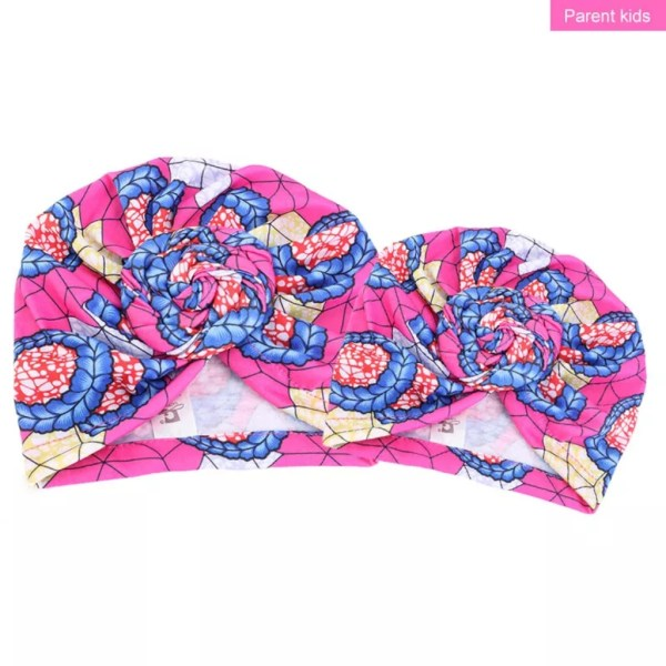 African Turbans (pink)