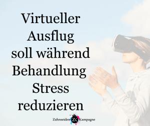 virtual reality lindert stress zahnseidenkampagne