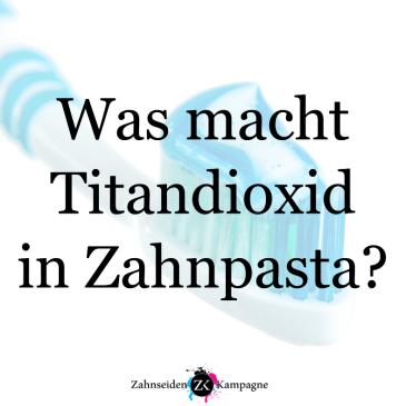 Was und Wo ist Titandioxid?