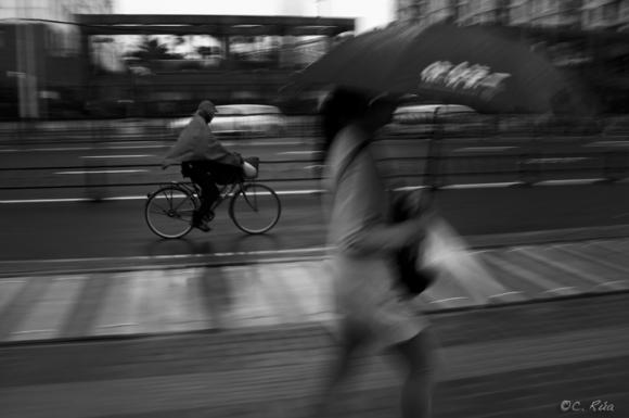 Las bicicletas no son para el verano.