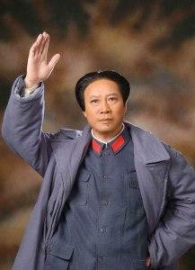 Wei Jian (魏积安) interpretando a un joven Mao