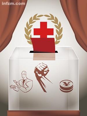 """Monopolio en las donaciones, apoyo del gobierno y vínculos con los poderes económicos. Así es la Cruz Roja con """"características chinas"""", al menos según el Nanfang Zhoumo."""
