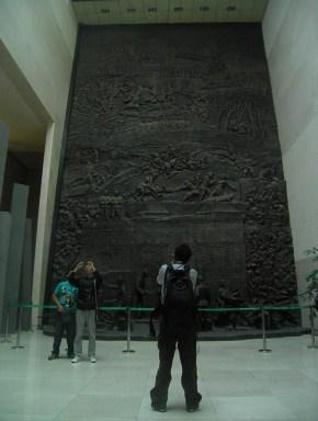El Museo de la invasión japonesa en la ciudad de Changchun.