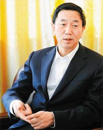 Imagen del famoso ex-alcalde de Datong, que ha puesto patas arriba toda la ciudad en gigantescas obras urbanas, pero que parece contar con un importante apoyo popular.