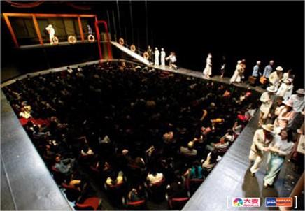 Imágenes de promoción de la representación que tendrá lugar en junio de 2013 en Shanghai.
