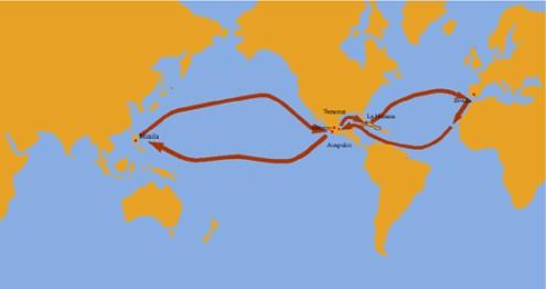La ruta completa llegaba hasta Sevilla y de ahí hasta el resto de Europa.