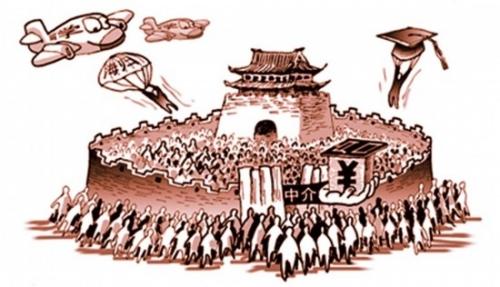 Distintas formas de conseguir un hukou: ir a la universidad, estudiar en el extranjero o pagar dinero. Imagen del Yanzhao Metropolis Daily.