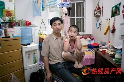 La gente de fuera de Pekín suele tener mayores dificultades para instalarse en la ciudad.