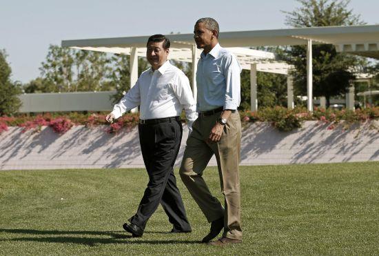 En su segunda visita oficial como Presidente de China, Xi Jinping viajó a Estados Unidos para reunirse con Barack Obama.