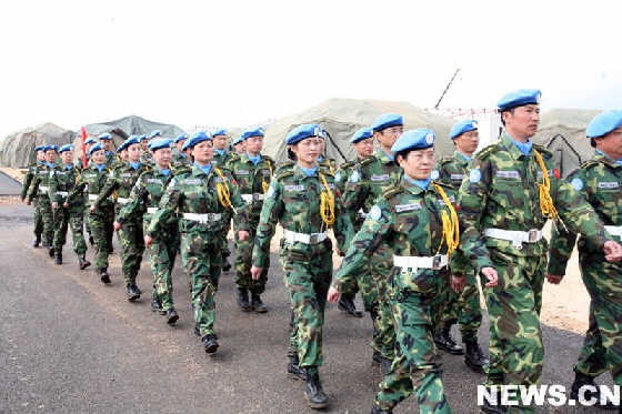 En los últimos años, china ha aumentado significamente su presencia en las misiones de paz de Naciones Unidas.