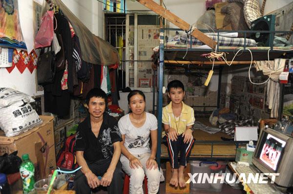 Muchos de los que viven en la gran potencia china lo hacen en viviendas como la de esta imagen.