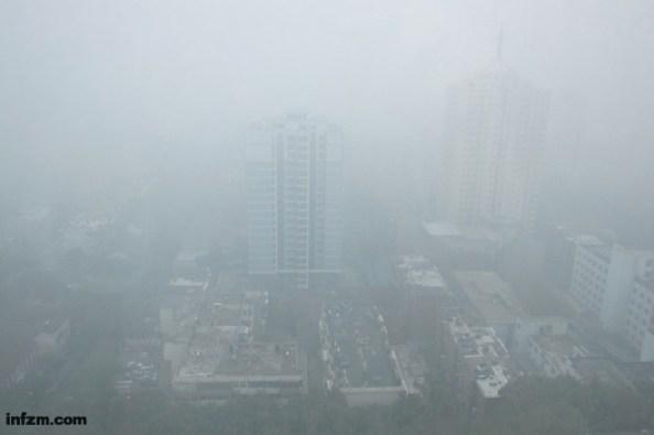 Imagen de Jinan, la capital de la provincia de Shandong, el 29 de octubre de 2013.