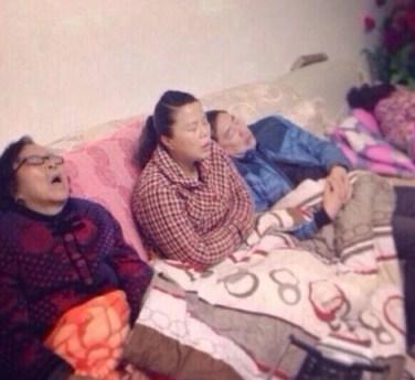 Una de las imágenes compartidas en Sina Weibo y recogida por los medios chinos
