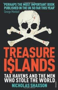 Treasure Islands, el crítico libro de Nicholas Shaxon donde se explica el desarrollo y funcionamiento de los paraísos fiscales