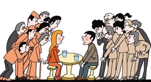 En China, el matrimonio no es casi nunca una cuestión de sólo dos personas.