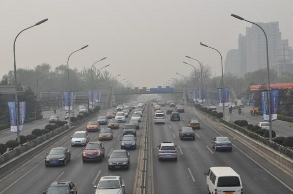 Las largas distancias, los atascos y las incomodidades de las grandes ciudades chinas son uno de los motivos por los que los ciudadanos acuden a estas empresas para todo. [FOTO: Daniel Méndez]