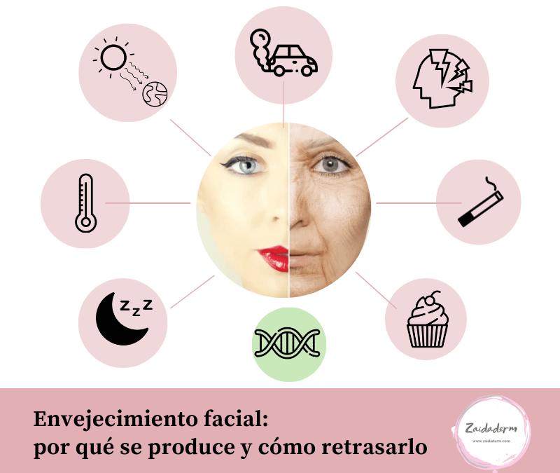 Envejecimiento facial: por qué se produce y cómo podemos retrasarlo