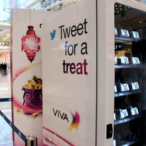 Tweet for a treat