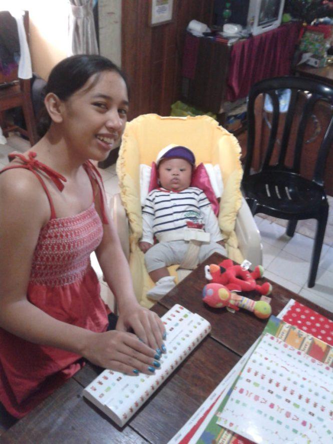 little santa and the big helper