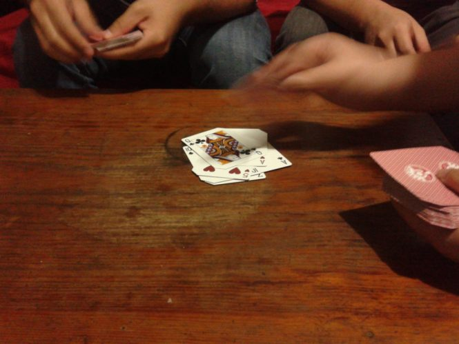 a game of heart attack to end the night