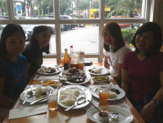 Me, my ladies and our admin assistant :)