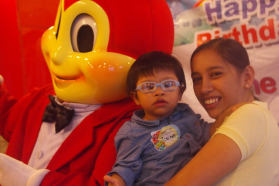 Z was not fond of Jollibee :P