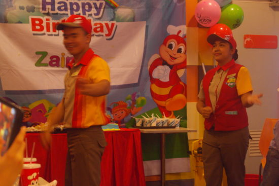 Jollibee's back up dancers :P