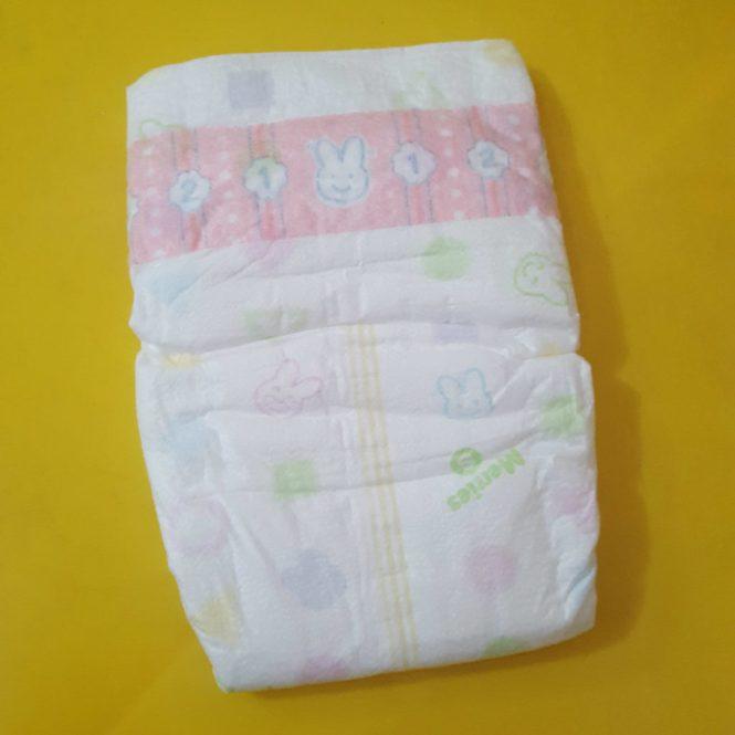 merries diapers_taped