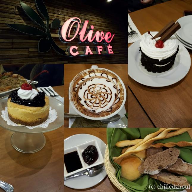 olive cafe_collage
