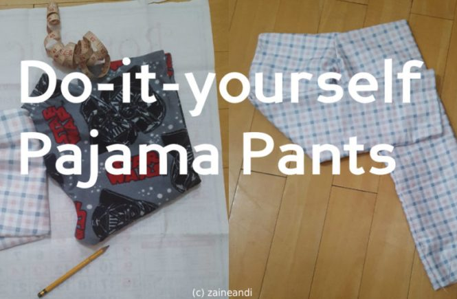 DIY Pajama Pants Feature