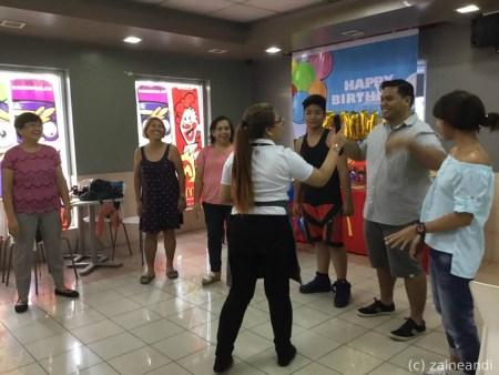 McDonald's McCelebrations adult games 2