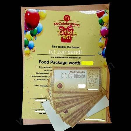mcdonald's mccelebrations voucher