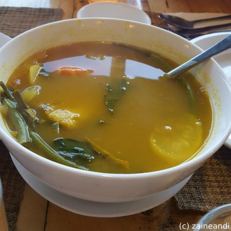 Cafe By The Ruins 100 island sinigang