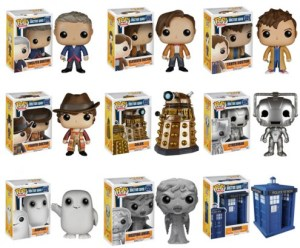 Doctor Who Funkos _ zainey laney