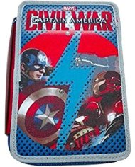 Astuccio 3 Zip Capitan America Civil War 0 1