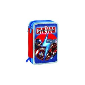 Astuccio 3 Zip Capitan America Civil War 0