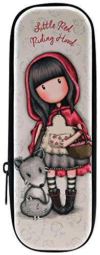 Astuccio Portapenne Metallo Con Zip Gorjuss Little Red Riding Hood Zipped Tin 0