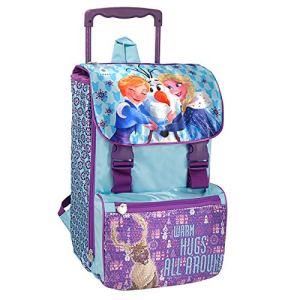 Disney Frozen Zaino Trolley Estensibile Scuola 2018 2019 0