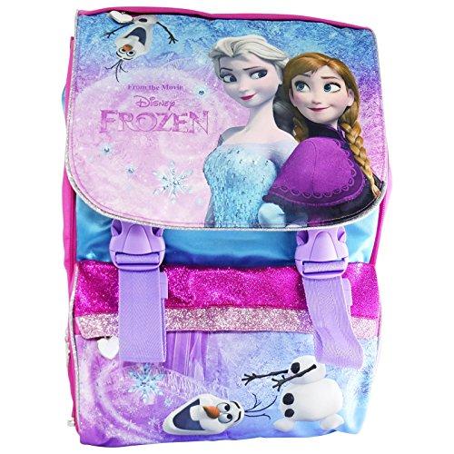 Disney Frozen Elsa E Anna Zaino Estensibile Scuola Elementare Medie Con Gadget In Omaggio 0