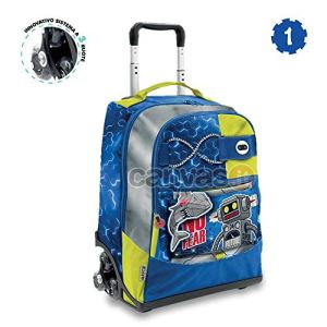 Go Pop Boy 20192020 Zaino Trolley Spinner Robot 0