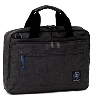 Invicta Office Borsa Messenger 42 Cm 12 Litri Grigio Scuro 0