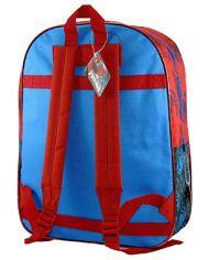 Marvel Spiderman Zaino Scuola Trolley Rimovibile 41x32x14cm Blu Rosso Elementari Medie 0 3