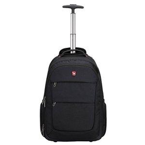 Oiwas Zaino Trolley Zaino Con Ruote Adatto A Laptop Da 156 Pollici Zaino Da Viaggio Scuola Bagaglio A Mano Zaino Cabina 0