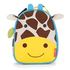 Skip Hop Lunchies Borse Per Trasportare Cibo Per Bambini Della Linea Zoo Motivo Giraffa 0