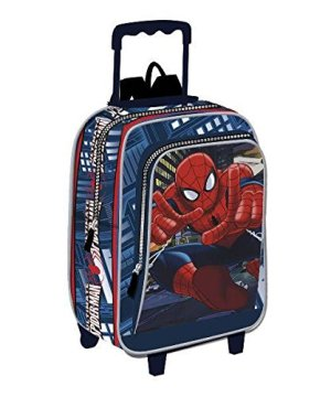 Zaino Trolley 37 Cm Spiderman Power 0