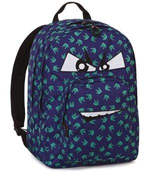 Zaino Invicta Dial Pack Fantasy Blu 38 Lt Doppio Compartimento Tasca Per Portatile 0 0