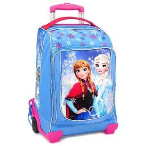 Zaino Trolley Scuola Disney Frozen Elsa E Anna 0