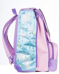 Zaino Scuola Estensibile Disney Frozen Magia Del Cuore Azzurro Rosa 31lt 0 2