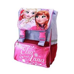 Zaino Frozen Anna Elsa Zaino Estensibile Italiano Scuola Elementare 0