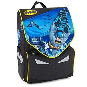 Batman E Justice Leaugue Zaino Scuola Estensibile 0